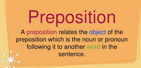 Object Of Preposition